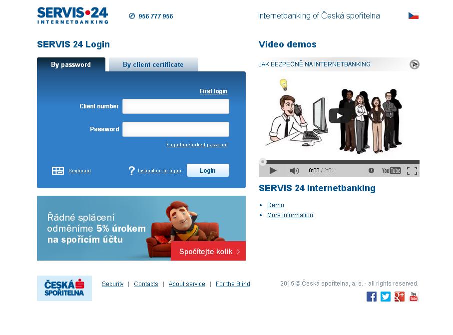 Jakými způsoby umožní Servis24 přihlášení na účet?